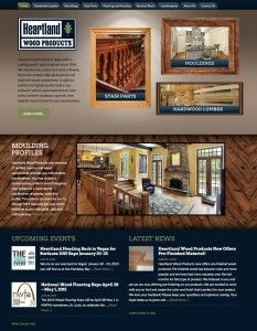 Heartland Wood Products - New website Design by Redwood Valley Technical Solutions
