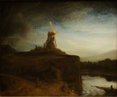 """The Mill"" Rembrandt - 1648"