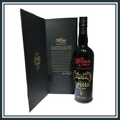 Arran Devils Punch Bowl Chapter The Master distiler, James MacTaggart chose 27 casks to make this amazing Whisky! Single Malt Whisky, Arran, Distillery, Whiskey Bottle, Punch, Pure Products, Alcoholic Punch