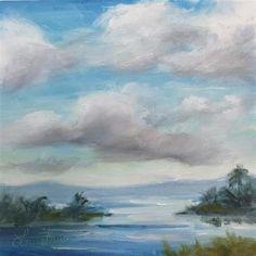"Daily Paintworks - ""Summer"" - Original Fine Art for Sale - © Laura  Buxo"