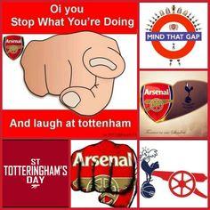 Happy St Totteringhams day Gooners!! #COYG #Arsenal