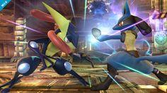 Super Smash Bros. for Nintendo 3DS / Wii U: Greninja (Wii U 6)