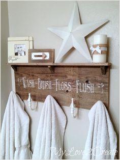 15 Cool Diy Towel Holder Ideas For Your Bathroom 9