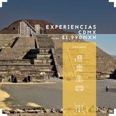 No necesitas irte a la playa para cerrar con broche de oro tu fin de año 2017. ¡Nosotros tenemos un plan divertido para ti!  Viaja a la Ciudad de México durante 2 noches y disfruta de 3 experiencias inolvidables: un tour con Capital Bus, visita y recorrido en el Museo Nacional de Antropología y una visita y recorrido por Teotihuacán desde $1,990mxn por persona.   Reserva llamando al 442 348 66 91 y paga a meses sin intereses.