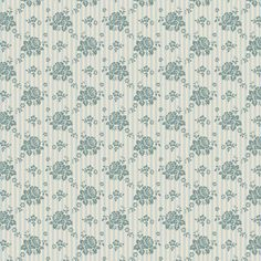 Tilda Spring Diaries Fabric Emily Teal