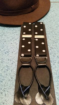 Check out this item in my Etsy shop https://www.etsy.com/listing/221676387/vintage-polka-dot-button-tab-suspenders
