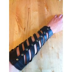 PAIR of Upcycled Rubber Spiral Bracers - Diagonal Cutout Gauntlets for Goth Steampunk Fetish Fantasy Wear or Apocalyptic Punk Costumes Goth Halloween Costume, Punk Costume, Steampunk, Goth Club, Leather Craft, Upcycle, Post Apocalyptic, Godzilla Costume, Dystopia Rising