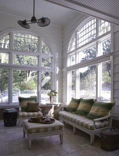 This space designed by Morgante Wilson features Niermann Weeks Loggia Sofa, Ottoman, and Arm Chair. niermannweeks.com #NiermannWeeks