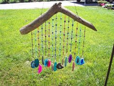 agate slice wind chime - Yahoo Image Search Results