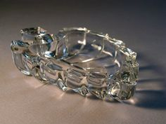 Little Leaf Glass Dish by TinyandBeautiful on Etsy