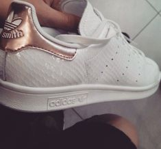 shoes adidas rosé gold stan smith