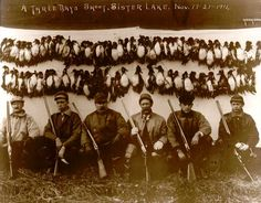 Old Hunt Photo November 1911