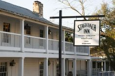 A member of Historic Hotels of America, the Stagecoach Inn was constructed amid the nation's Gilded Age in the second-half of the 19th century. Built in 1852, it is thought to be the most historic structure in the village of Salado, Texas. The original simple, two-story wood-frame building was designed in a frontier vernacular style. Salado lies between Austin and Waco and was one of the earliest settlements in central Texas. Salado means salty referring to the local mineral water springs. Destin Resorts, Hotels And Resorts, Salado Texas, Stagecoach Inn, Pioneer Day, Honeymoon Romance, Luxury Accommodation, Lodges, Palm Springs
