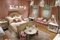 Love this little girl's room! -