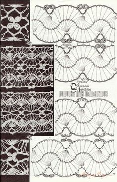 Gallery.ru / Фото #14 - Способы формирования полотна - Alleta  Hairpin lace, #free #crochet #pattern <3ceruleana<3