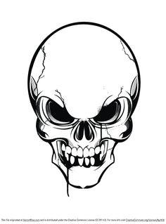 skull vector free vector site download free vector art graphics rh pinterest com skull vector art free skull vector graphic