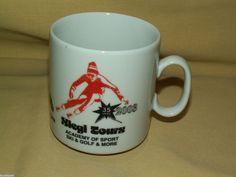 SKI MUG SIEGI TOURS ACADEMY SPORT GOLF MORE 2003 AUSTRIA CUP MILK GLASS 35 YEARS