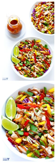 Rainbow Thai Chicken