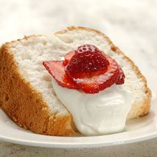 Gluten-Free Angel Food Cake-This high-rising, flavorful cake is perfect topped with strawberries and whipped cream. Its so tender and light, no one will suspect its gluten-free!
