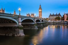 Queen Elizabeth Tower and Wesminster Bridge by Andrey Omelyanchuk on 500px