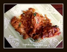 Cupcakeluv: Kylling Masalah/ Chicken Masalah