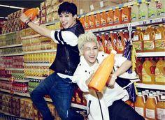 JB and Bam Bam