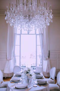 Intimate ballroom reception
