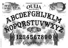 Free Ouija Board Printable from www.suzyhomemaker.co.uk