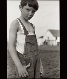 the impish Iowa farmboy captured on film by John Vachon in May 1940