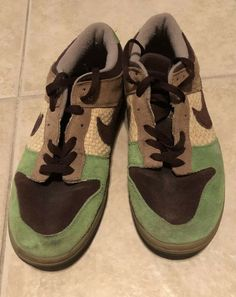 """9004c90ad31 The Nike Dunk Low Kickshawaii """"Aloha"""" Size slightly used but bought at Kicks  Hawaii. Only comes with the brown laces attached!"""