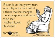 Robert Louis Stevenson, born 13 November 1850, died 1894