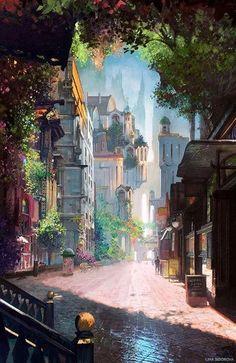 Улицы Штаба