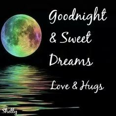 goodnight ~Thanks M, and the same to all of you. x ;))