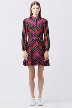 DVF CHRISSIE SHIRT DRESS | Landing Pages by DVF