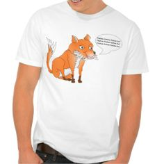 Customizable what does the fox say shirt