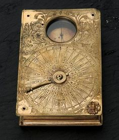 ~ Steampunk Astronomy Kit ~ great art object made by etching brass, adding a clock behind the scenes, and a compass. Steampunk Kunst, Steampunk Book, Steampunk Artwork, Steampunk Accessoires, Josephine Wall, Sistema Solar, Bare Necessities, Objet D'art, Beatrix Potter