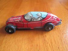Vintage Tin Race Car Wind Up 22 Pressed Steel Vintage Tin Toy Car Vintage Toys