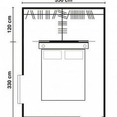 modern Minimalist Walk-in Closet Innovative Design, Cabina Armadio by Porro Wardrobe Behind Bed, Wardrobe Closet, Closet Bedroom, Bedroom Storage, Home Bedroom, Bedroom Decor, Small Bedroom Designs, Closet Designs, Bedroom Floor Plans