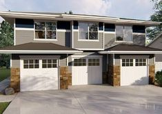 Garage Doors – Types, Considerations, And Ideas – The Homeward View Cedar Garage Door, Rv Garage, Garage Apartment Plans, Garage Apartments, Garage Ideas, Door Ideas, Garage Plans With Loft, Garage House Plans, Barn House Plans