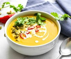 Fall is high season for traditional squash and pumpkin soups, but we like to take it in a different direction with some classic Thai flavors that really pop. Thai and Asian cuisine is known for balancing sweet, salty, sour and spicy flavors in the same dish and this flavorful bisque does just that. To make […] The post Recipe of the week: Thai style pumpkin squash soup appeared first on A Luxury Travel Blog.