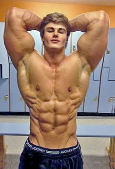 Jeff Seid.    In the entire world, there is nobody that NEEDS MORPHING LESS than Jeff Seid.  This photo is simply stupid.