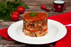 orez-cu-rosii-si-ciuperci Meatloaf, Lasagna, Quiche, Vegan, Cooking, Breakfast, Ethnic Recipes, Anna, Food