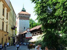 Krakowskie mury miejskie