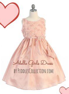 Adelle Girls Dress