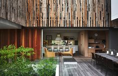 Robberg Beach House * Cécile and Boyd Interior Architecture, Interior And Exterior, Modern Tropical, Beach Houses, St John's, Cape Town, Screens, Outdoor Spaces, South Africa