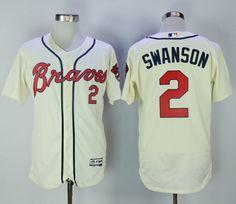4fed52019 Nfl Jerseys For Sale, Baseball Jerseys, Basketball, Dansby Swanson, White  Jersey,