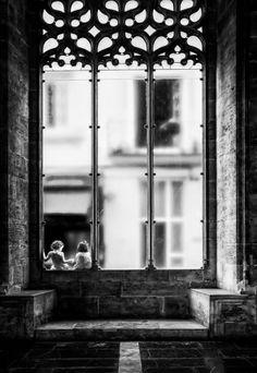 Behind the glass by Juan Luis Duran
