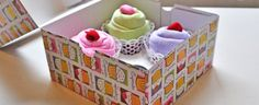This Cupcake Onesies Gift Idea is super cute and easy to recreate. It's just one of several baby shower ideas and we have video instructions.
