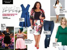 Life and Style of Jessica Kane: Plus size fashion picks for sizes 30 and up! Fashion Over, Girl Fashion, Fashion Outfits, Plus Size Fashion Blog, Plus Size Swimsuits, Hot Outfits, Rock, Business Fashion, Street Style Women