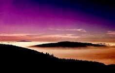 """Mar de nubes en Tenerife. #BlogDestinia -""""Canarias: siete islas, siete paraísos del senderismo""""."""